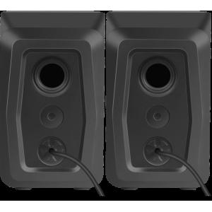 Акустика Defender Solar 1 RMS  2.0 6W, USB, с подсветкой, чёрный