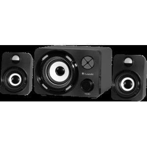 Акустика 2.1 Defender G11 11Вт, Light/BT/FM/TF/USB/AUX