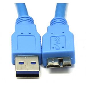 Кабель для подключения внешних жестких дисков AM/Micro USB 3.0 1м