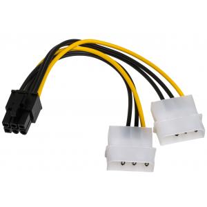 Переходник питания Molex - 6 pin для видеокарты