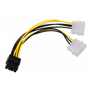 Переходник питания Molex - 8 pin для видеокарты