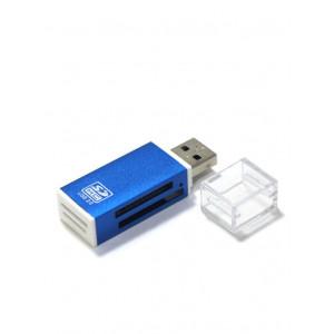 "Кардридер CBR Speed rate ""Glam"" blue USB 2.0"