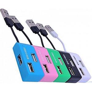USB разветвитель DeTech DE-V12 4 порта