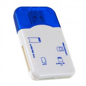 Кардридер Perfeo PF-VI-R010 Blue