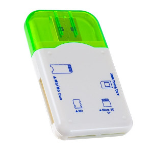 Кардридер Perfeo PF-VI-R010 Green