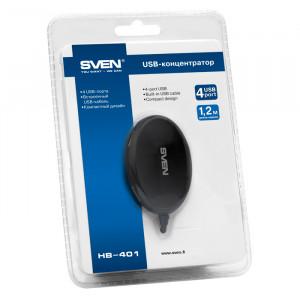 USB разветвитель Sven HB-401 4 порта