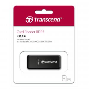 Кардридер Transcend TS-RDP5K USB 2.0