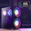 Корпус AeroCool Python RGB Black