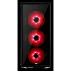 Корпус AeroCool Quartz Black-Red