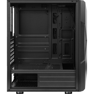 Корпус ATX BoxIT 4709BB Midi-Tower ATX без БП RGB лента