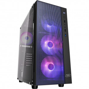 Корпус DEEPCOOL MATREXX 55 MESH ADD-RGB 4F Black без Б/п
