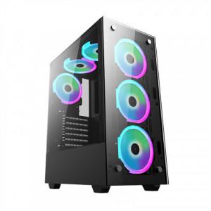 Корпус DeTech DT-8012 RGB