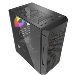Корпус Powercase Mistral Z3B Mesh LED mATX (CMIMZB-L3)