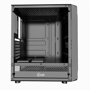Корпус Powercase Mistral Z4 Mesh LED (CMIZB-L4)