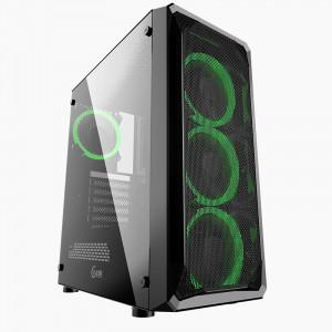 Корпус Powercase Mistral Z4 Mesh RGB (CMIZB-R4)
