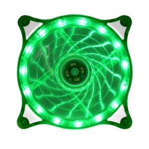 Вентилятор корпусной Crystal LED Green 120мм
