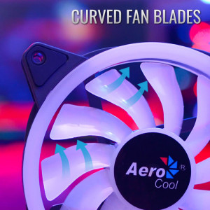 Комплект вентиляторов Aerocool Duo 12 PRO 3 шт