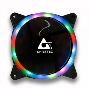 Вентилятор корпусной Chieftec Chieftronic AF-12RGB 120mm