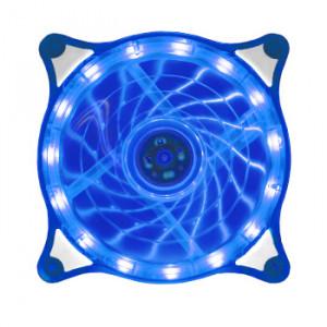 Вентилятор корпусной Crystal LED Blue 120мм