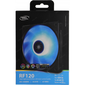 Комплект вентиляторов Deepcool RF120 DP-FRGB-RF120-3C 3x120mm