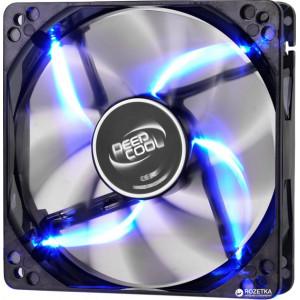 Вентилятор корпусной DEEPCOOL WIND BLADE 12 см с Blue подсветкой