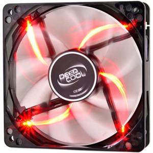 Вентилятор корпусной DEEPCOOL WIND BLADE 12 см с Red подсветкой