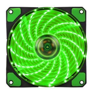 Вентилятор корпусной Green LED 120мм