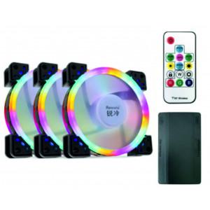 Комплект вентиляторов Raicold RGB 3 шт + пульт ДУ