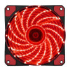 Вентилятор корпусной Red LED 120мм