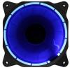 Вентилятор корпусной с кольцевой подсветкой Blue LED 120мм