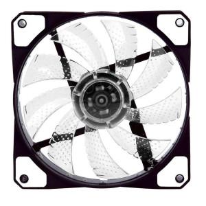 Вентилятор корпусной White LED 120мм