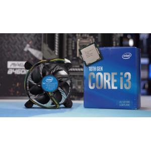 Процессор INTEL Core i3 10100 (3.6 - 4.3 Ghz) LGA 1200 BOX