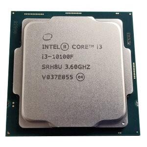 Процессор INTEL Core i3 10100F (3.6 - 4.3 Ghz) LGA 1200 trey