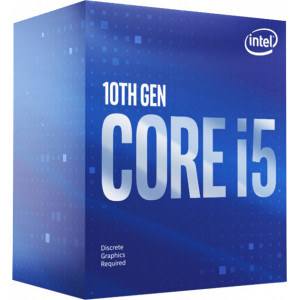 Процессор INTEL Core i5 10400F (2.9 - 4.3 Ghz) LGA 1200 BOX