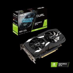 Видеокарта ASUS nVidia GeForce GTX 1650 , DUAL-GTX1650-4G, 4ГБ, GDDR5