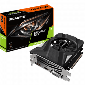 Видеокарта GIGABYTE nVidia GeForce GTX 1650SUPER , GV-N165SOC-4GD, 4Гб, GDDR6, OC, Ret