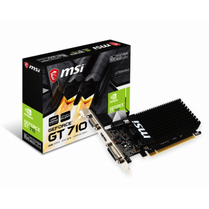 Видеокарта MSI Nvidia GeForce GT 710 2GB GDDR3 64Bit (GT 710 2GD3H LP)