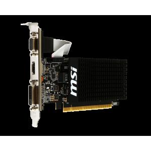 Видеокарта MSI Nvidia GeForce GT 710 1GB GDDR3 64Bit (GT 710 1GD3H LP)
