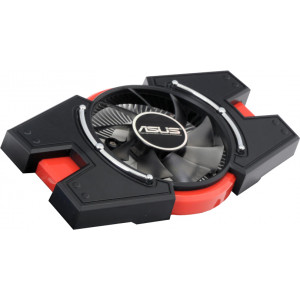 Система охлаждения для видеокарт Asus GT440/ GTS450/ GTX550/ GTX650/ HD6750/ HD6770 в сборе (радиатор, вентилятор, кожух) 75mm 4pin