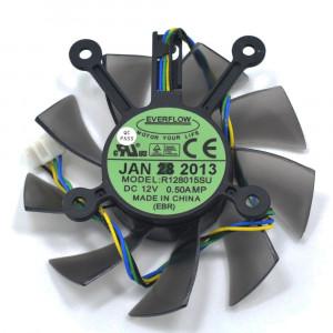 Вентилятор для видеокарт Asus GTS450/ GTX460/ GTX550Ti/ GTX560/ HD4790/ HD6670/ HD7750/ HD7770/ HD7850 R128015SU 75mm 4pin