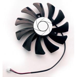 Вентилятор для видеокарт MSI Armor HA9010H12F-Z 85mm 2pin