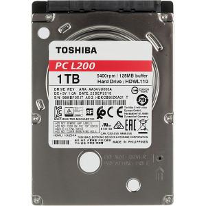 "Жесткий диск TOSHIBA L200 Slim HDWL110UZSVA, 1ТБ, SATA III, 2.5"""