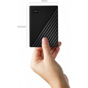 Внешний HDD накопитель WD My Passport (WDBYVG0010BBK-WESN) 1Tb, USB 3.0