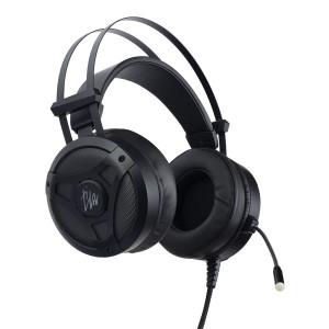 Наушники Perfeo TITAN PF-A4421 с микрофоном, LED подсветка