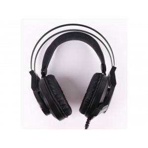 Наушники A4Tech Bloody J437 Black с микрофоном