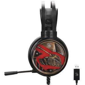 Наушники A4Tech Bloody G650S Black-Bronze c микрофоном