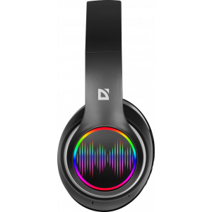 Наушники Defender FreeMotion B545 беспроводные, с микрофоном, Bluetooth, black