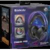 Наушники с микрофоном Defender Cosmo Pro, звук 7.1, RGB подсветка