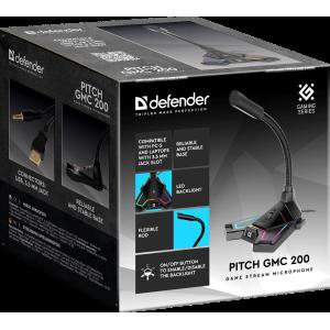 Микрофон Defender PITCH GMC 200 на подставке