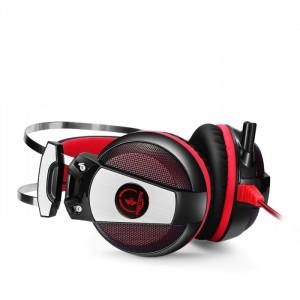 Наушники Jet.A GHP-600 черно-красные, звук 7.1, LED, с микрофоном